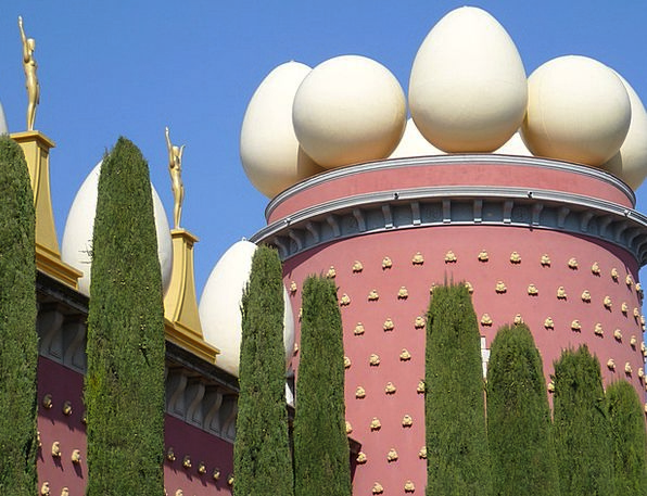 Egg Ovum Buildings Gallery Architecture Dalí Museu