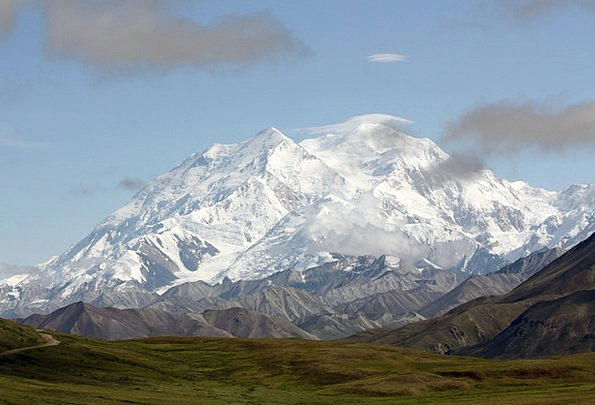Mount Mckinley Landscapes Countryside Nature Lands