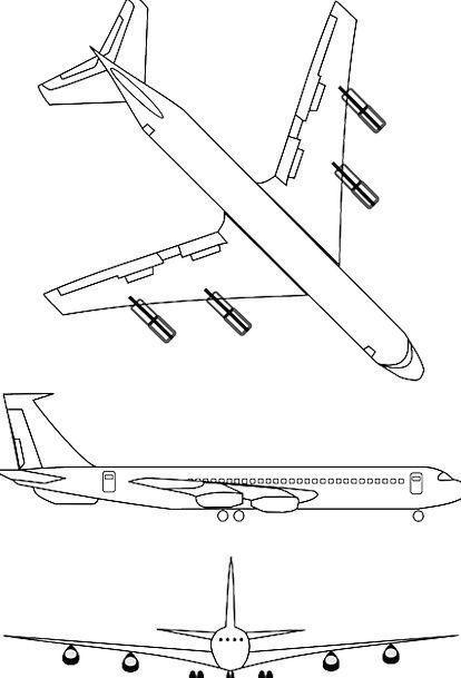 Airplane Traffic Transport Transportation Plane Fl