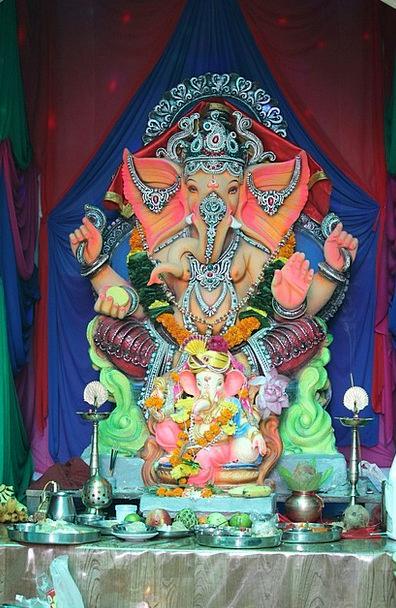 Ganesha Festival Centenary Mumbai Idol Hero Hindu