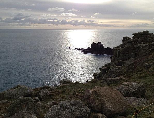 Cornwall Marine Rocky Coast Sea Rock Pillar Water