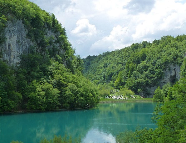 Plitvice Landscapes Nature Nature Countryside Croa