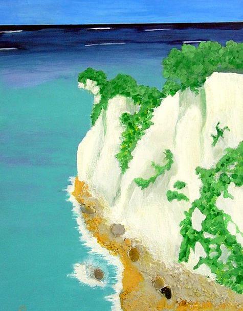 Sea Marine Craft Industry Rock Pillar White Cliffs