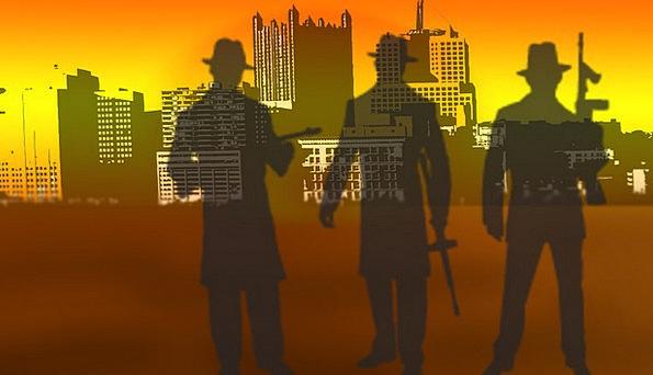Gangster Criminal Staves Mafia Clique Crooks Skyli
