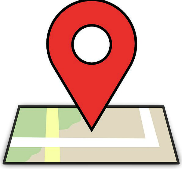 Location Site Chart Pin Jot Map Pinpoint Locate Po