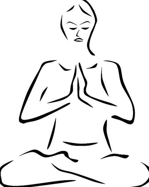 Meditation Thought Posture Carriage Yoga Spiritual
