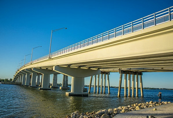 Bridge Bond Florida Marco Island Coastline Shoreli