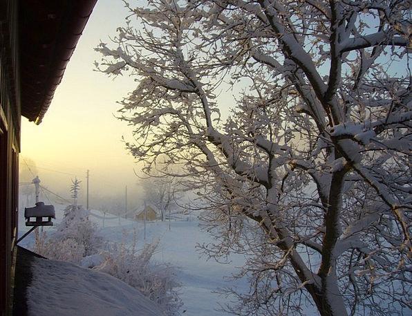 Snow Snowflake Landscapes Nature Landscape Scenery