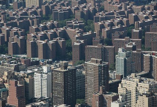 Urban Buildings Architecture New York Bronx Americ