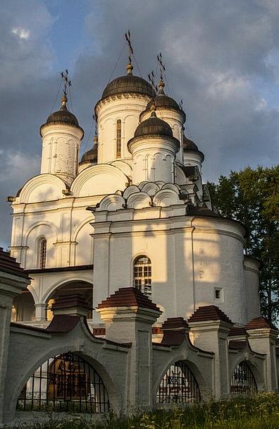 Church Ecclesiastical Landscape Scenery Russia Arc