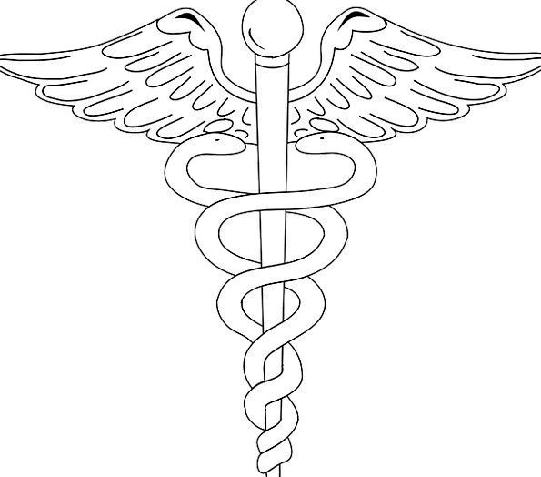 Medicine Drug Snakes Serpents Logo Healthcare Sign