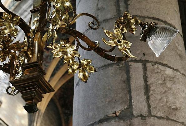 Lamp Uplighter Cathedral Chandelier Liege Lighting