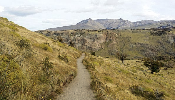 Mountain Trail Toward The Future The Andes Trail H