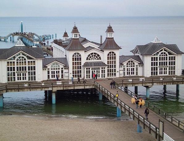 Sea Bridge Vacation Travel Baltic Sea Seebrücke Se