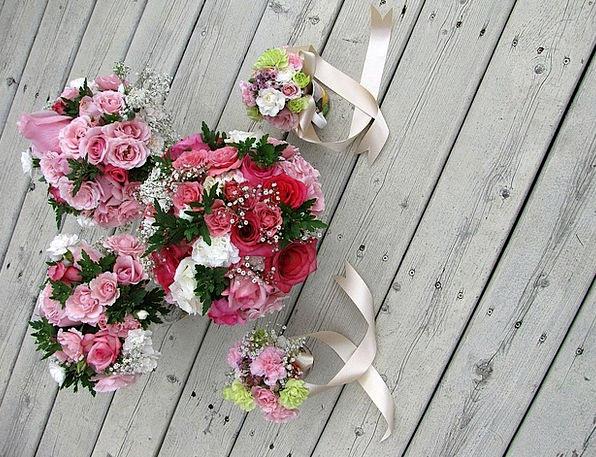 Wedding Bunch Bridal Nuptial Bouquet Gypsophila Pa