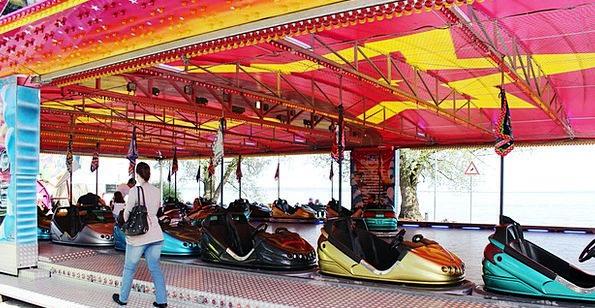 Year Market Bumper Cars Fairground Rorschach