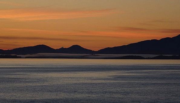 Cruise Voyage Dawn Morgenrot Sunrise Sea Marine