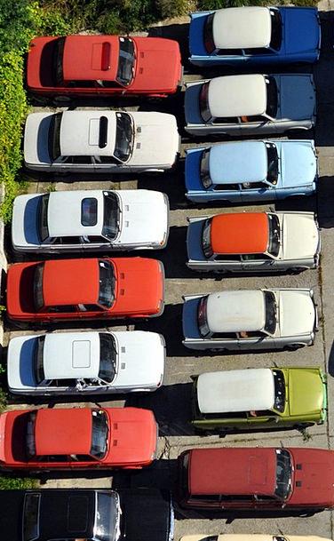 Parking Space Common Auto Car Park Satellite Cable