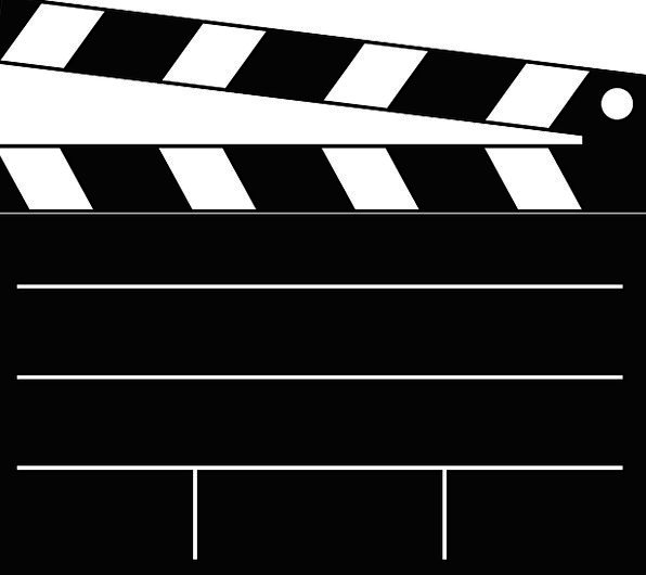 Clapperboard Dark Cut Censored Black Clapper Direc