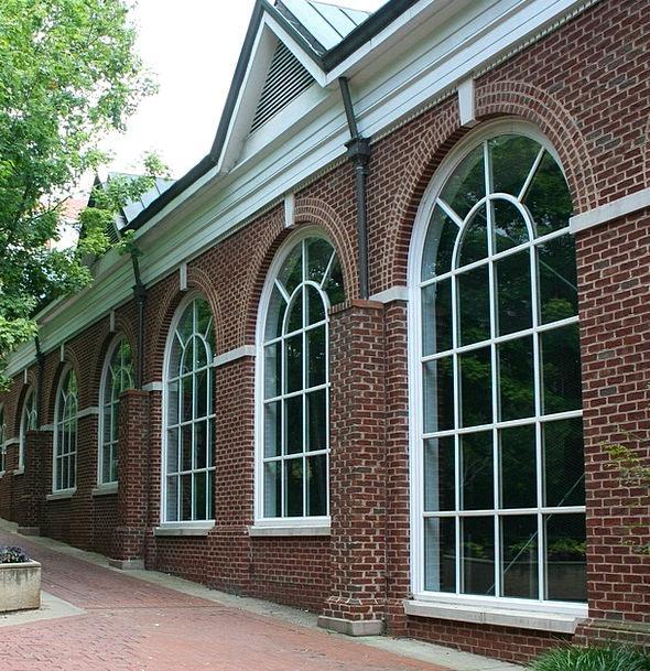 Windows Gaps Buildings Architecture Sidewalk Palla
