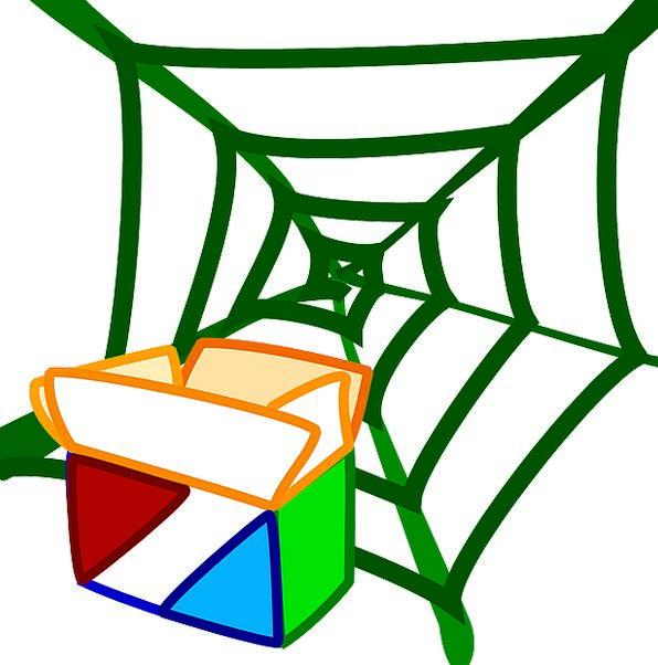 Spiderweb Package Set Spider Web Box Container Net