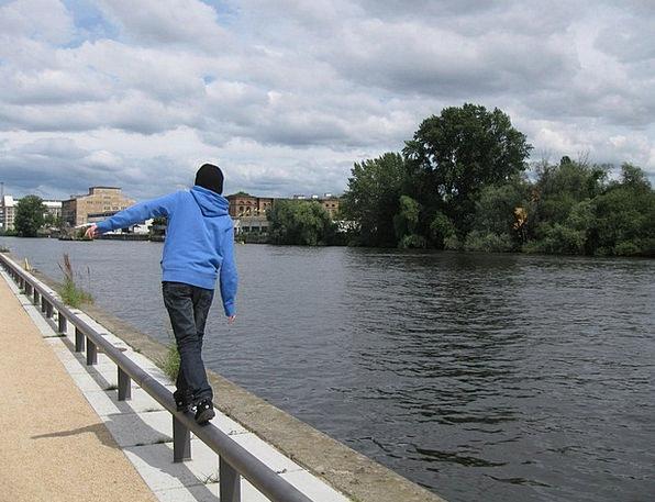 Berlin Binge Balance Equilibrium Spree River Strea