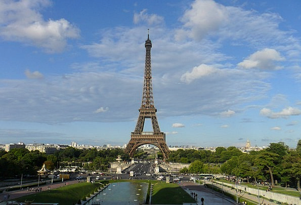 Eiffel Tower Vacation Travel France Paris Rest Tow