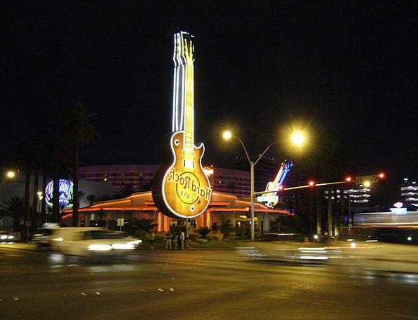 Hard Rock Teashop Neon Sign Cafe Advertisement Ad