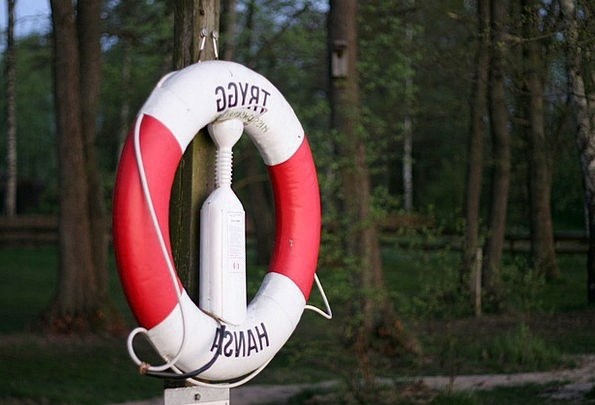 Lifebelt Lifebuoy Release Not Rescue Protection De