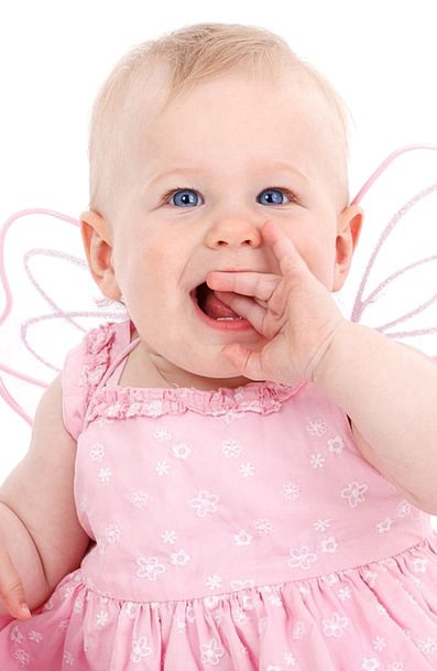 Angel Seraph Darling Beautiful Lovely Baby Fairy B