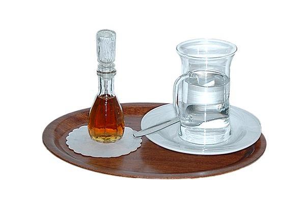 Grog Tray Salver Grog Glass Alcohol Liquor