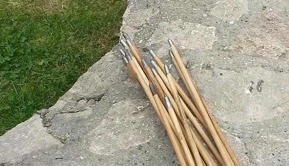 Arrows Missiles Pointed Piercing Wood Arrows Metal