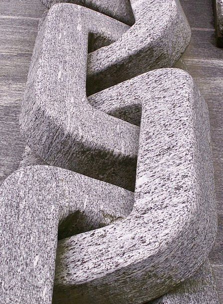 Granite Stonework Cable Stone Pebble Chain Calanca