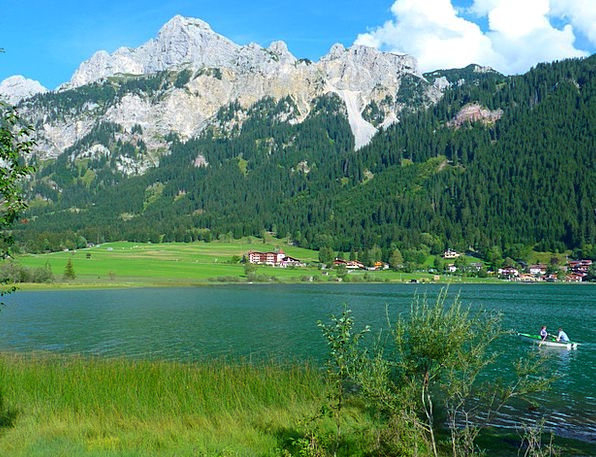 Haldensee Landscapes Understand Nature Mountains C