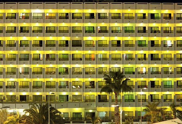 Hotel Guesthouse Buildings Nightly Architecture Ar