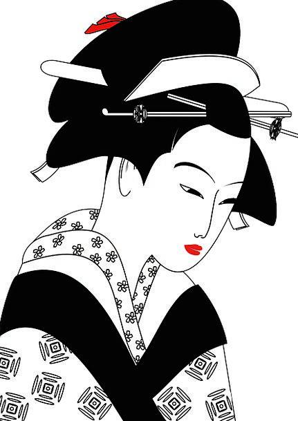 Chinese Fashion Lady Beauty Geisha Woman Tradition