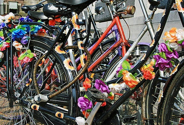 Bicycle Bike Traffic Pedaling Transportation Trans
