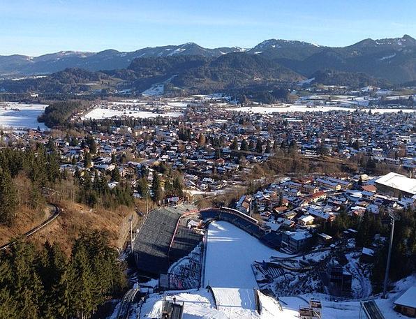 Ski Jump Knoll Winter Sports Hill Ski Sport Ski Ju