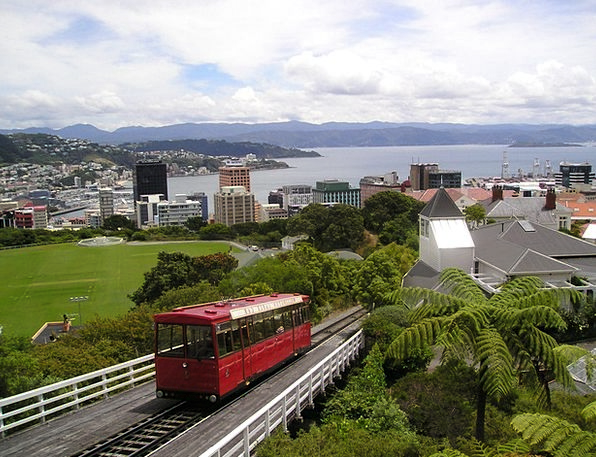 New Zealand Rack Railway Wellington Viewpoint Belv