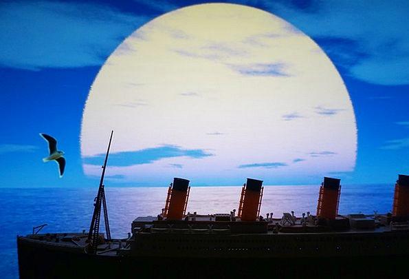 Sea Marine Eras Titanic Colossal Times Seagull Ple