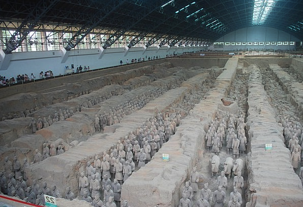 Terracotta Soil Monuments Soldiers Places Warrior