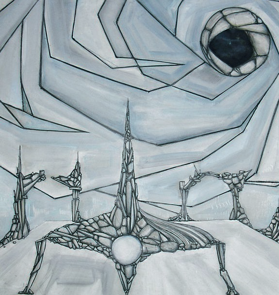 The Framework Painting Image Science Fiction Metap