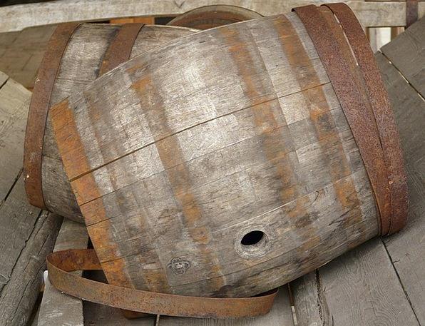 Barrel Tub Wood Timber Wooden Barrels Container Am