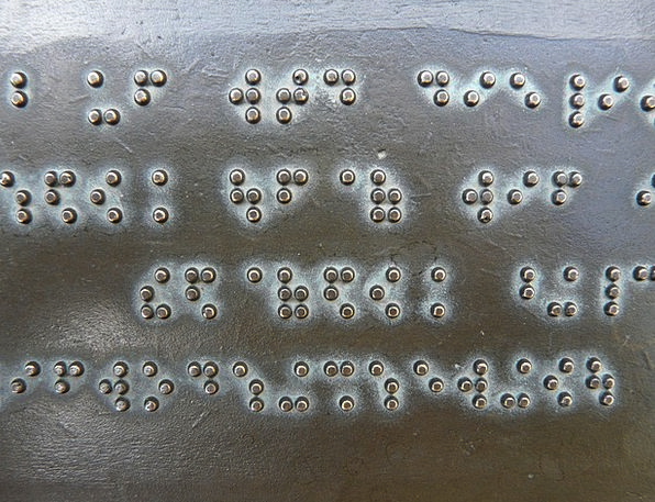 Braille Typeface Keys Solutions Font Metal Plate A