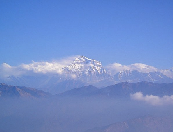 Nepal Mountains Crags Himalayas Dhaulagiri South W