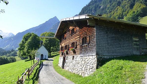 Allgäu Stillachtal Oberstdorf Gerstruben Alpe Höfa
