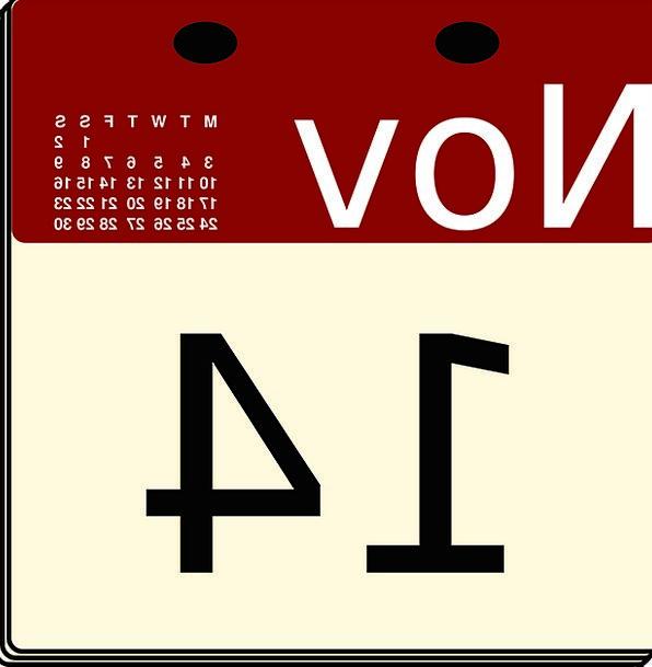 Calendar Almanac Date November Day Diurnal Tableto
