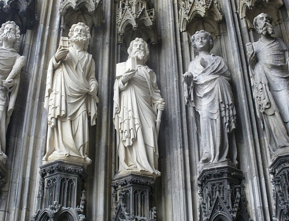Holy Consecrated Statue Dom Sculpture Figures Stat