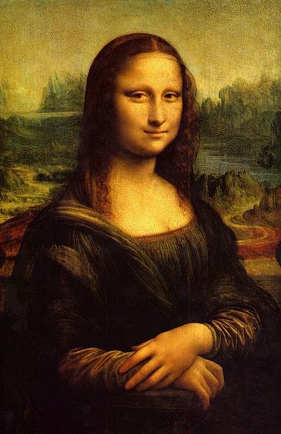 Mona Lisa Fashion Image Beauty Art Painting Louvre