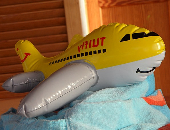 Aircraft Airplane Blowup Children Toys Inflatable